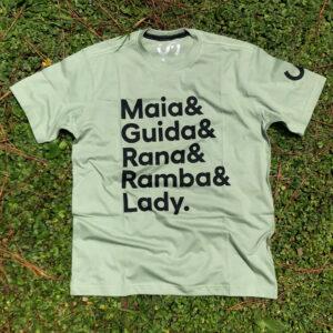 Camiseta Nomes Verde